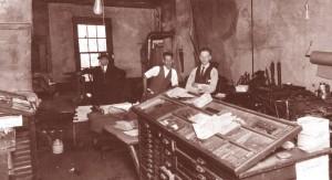 Benjamin H. Franklin, John Overbey & E. Sandridge 1308 E. Marshall Street , Richmond VA Circa 1926